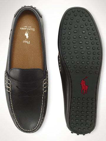 e8db95f00ec Leather Wes Penny Loafer