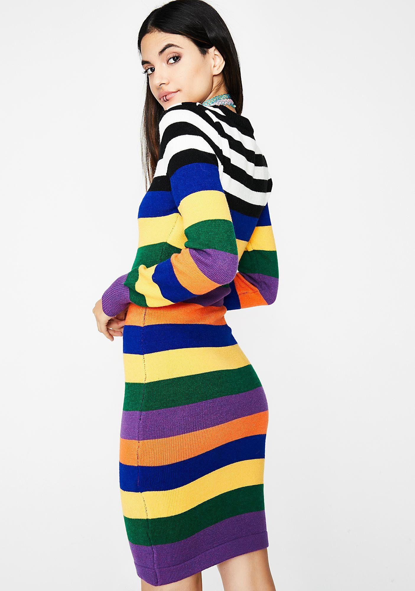 Rainbow Thang Bodycon Dress Dresses Long Sleeve Bodycon Dress Bodycon Dress [ 2000 x 1405 Pixel ]