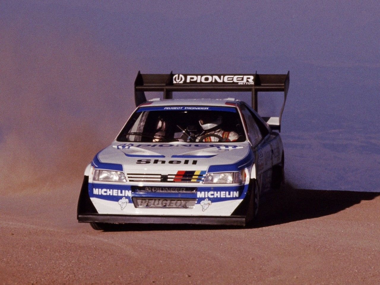 Peugeot 405 T16 Pikes Peak Car Pikes Peak Motorsport