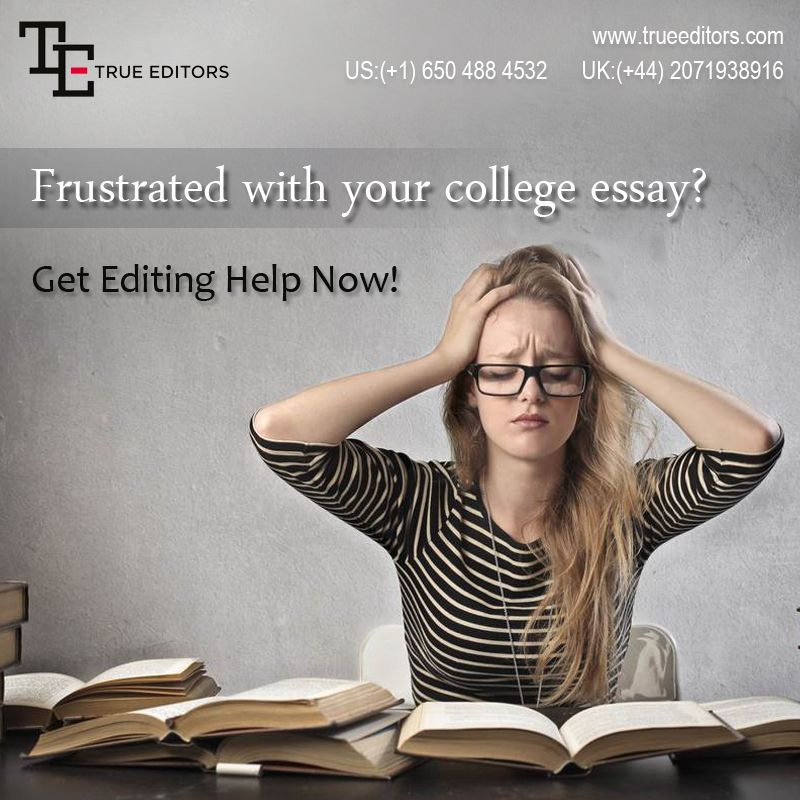 Proofreading service for students