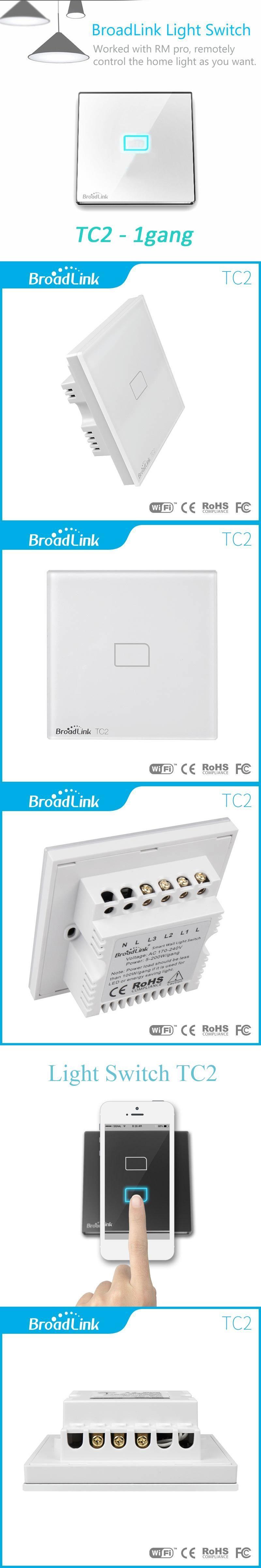 Uk standard broadlink tc2 wireless 1 gang wall light switch wifi uk standard broadlink tc2 wireless 1 gang wall light switch wifi remote control touch screen switch aloadofball Images