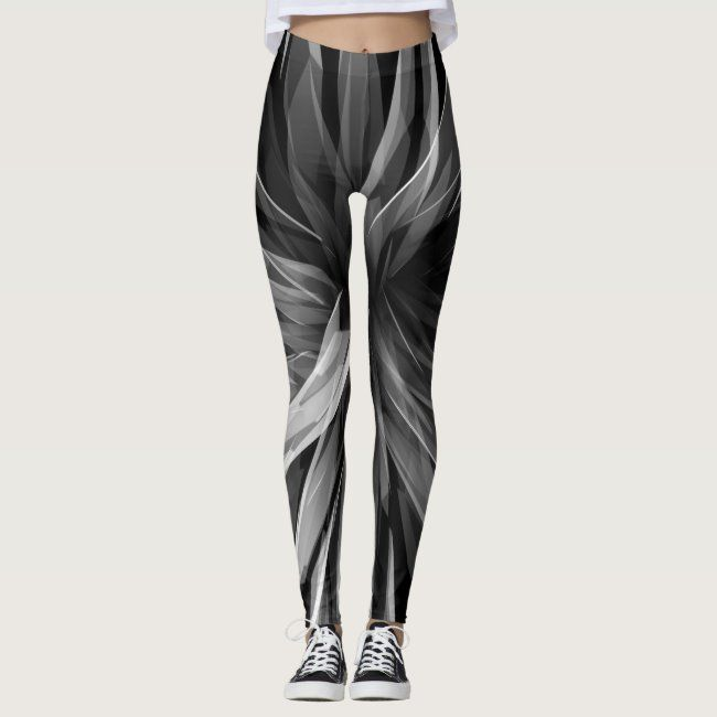 Perspective Facets - Leggings #blackand #blackandwhite #angular #art - Do you have ones like these?...