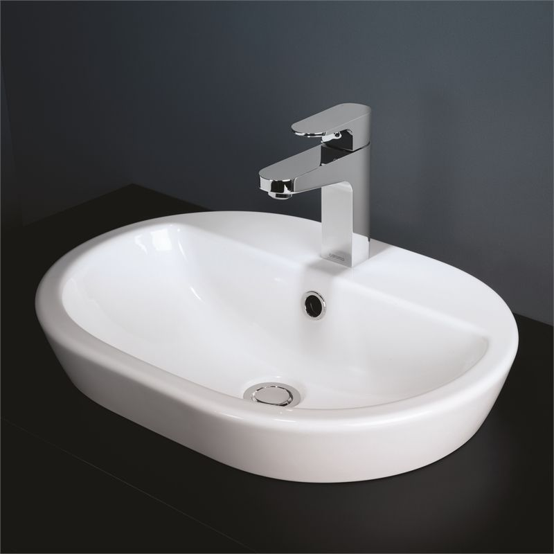 Find Caroma Track Above Counter Inset Basin TH At Bunnings - Local bathroom stores