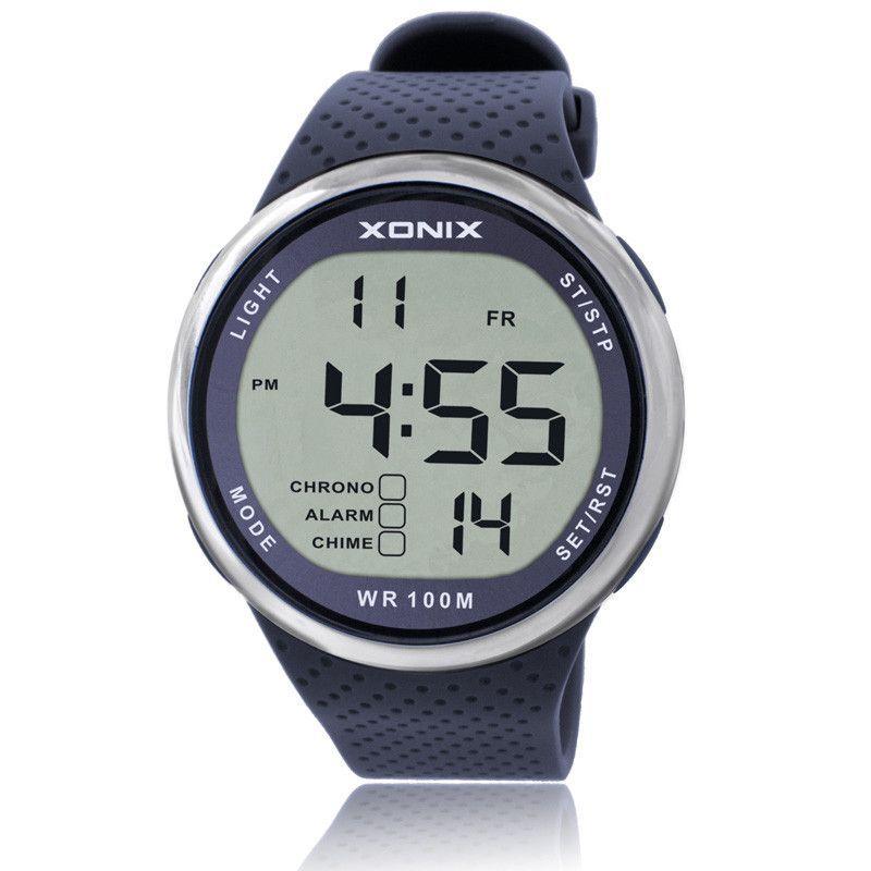 2016 XONIX Watches Luxury Men 100M Relogio Masculino LED Digital Diving  Swimming Reloj Hombre Sports Watch 299df66d00