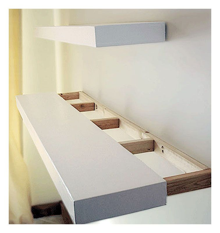 cool A simple DIY floating shelves for your home people ask