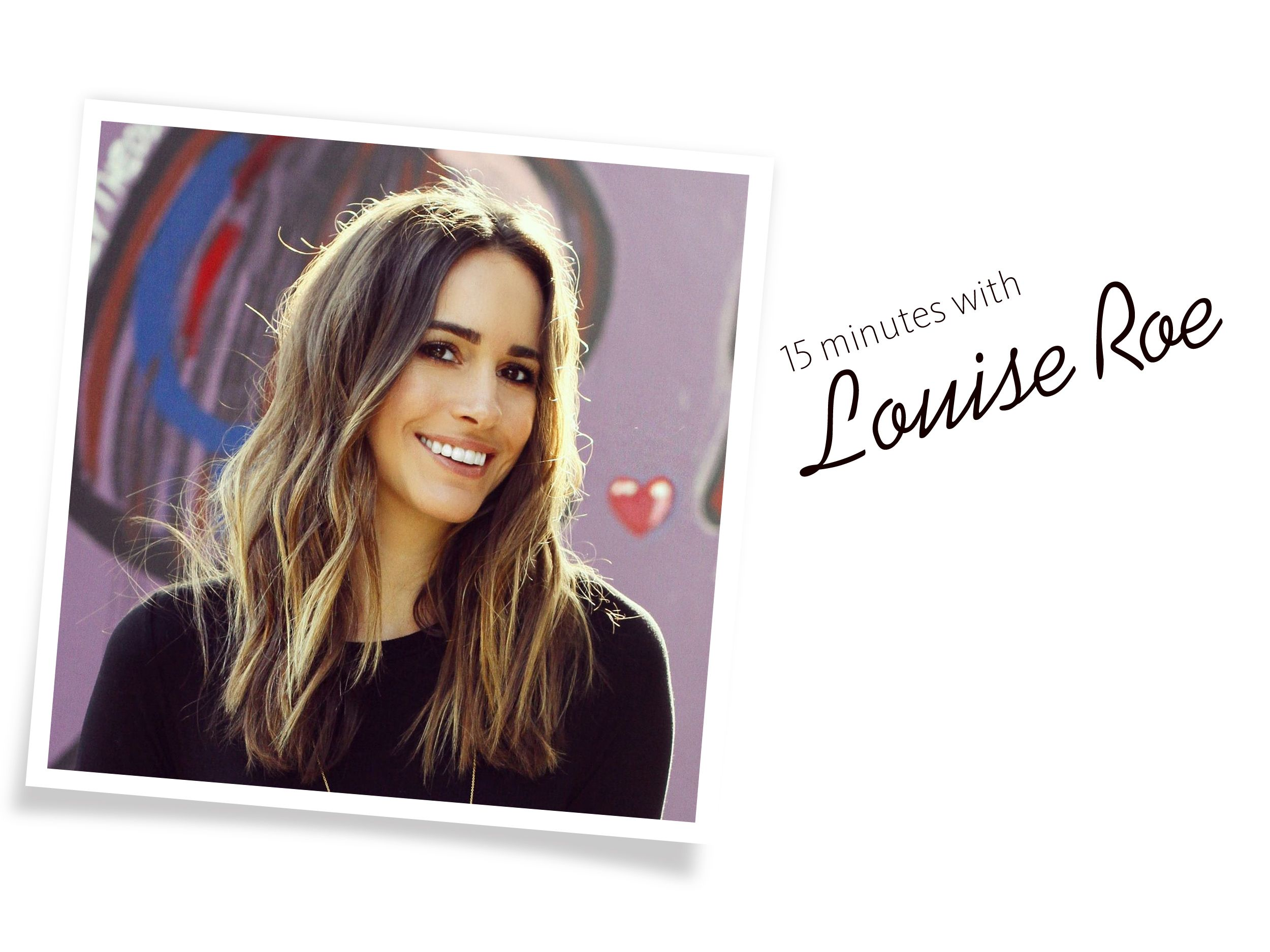Fashion Guru Louise Roe's Advice for Brides: 'Less Is More' | TheKnot.com