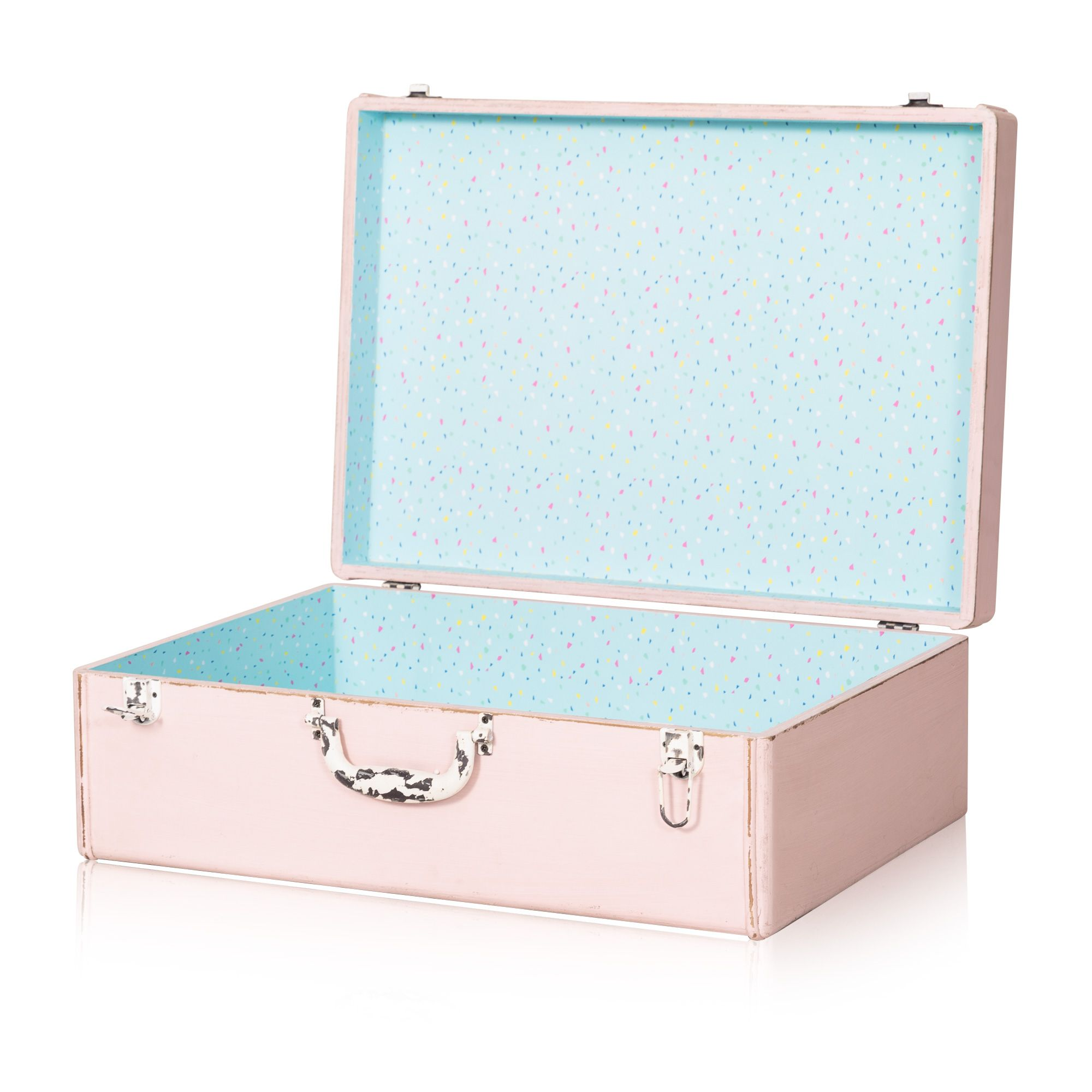 Buy The Large Loft Decorative Storage Suitcase At Oliver Bonas. Enjoy Free  UK Standard Delivery