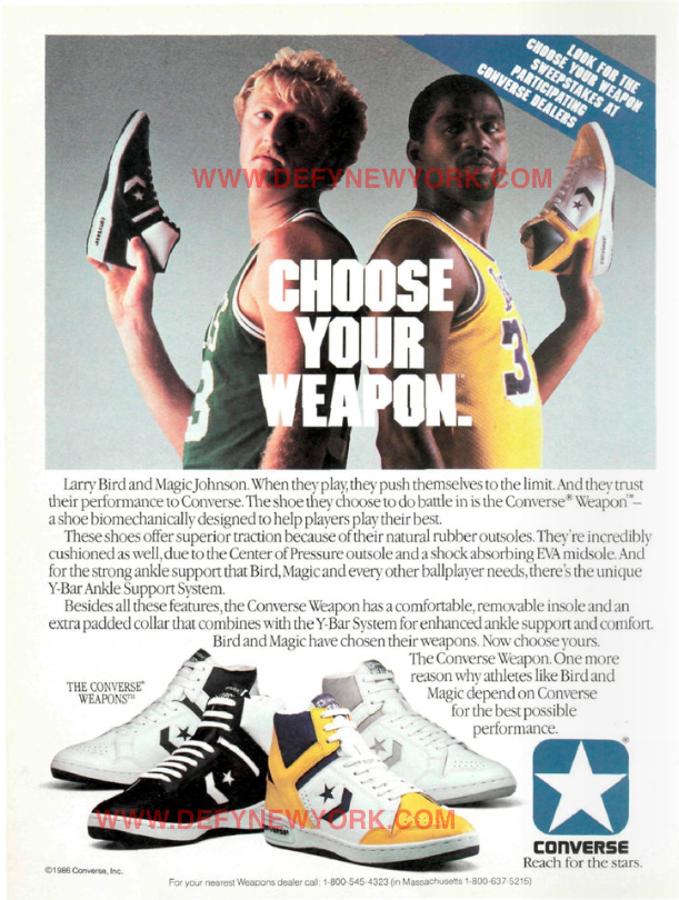 converse lakers weapon 86
