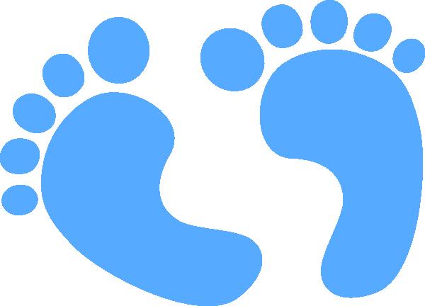 baby blue baby feet blue clip art at clker com vector clip art rh pinterest co uk