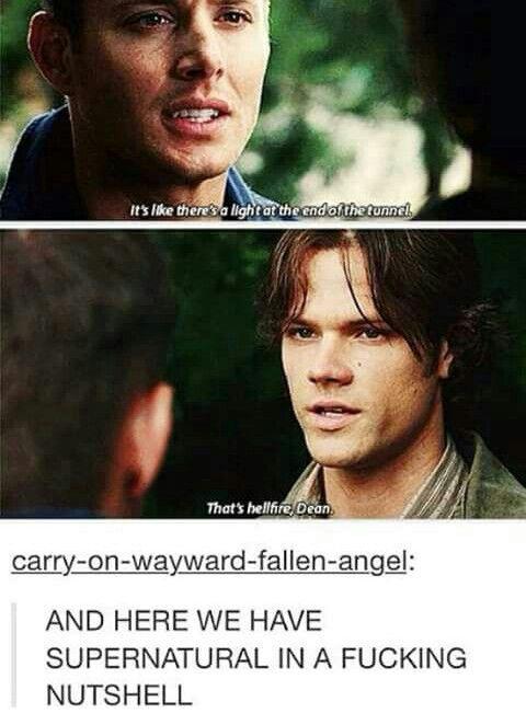 Supernatural in a nutshell