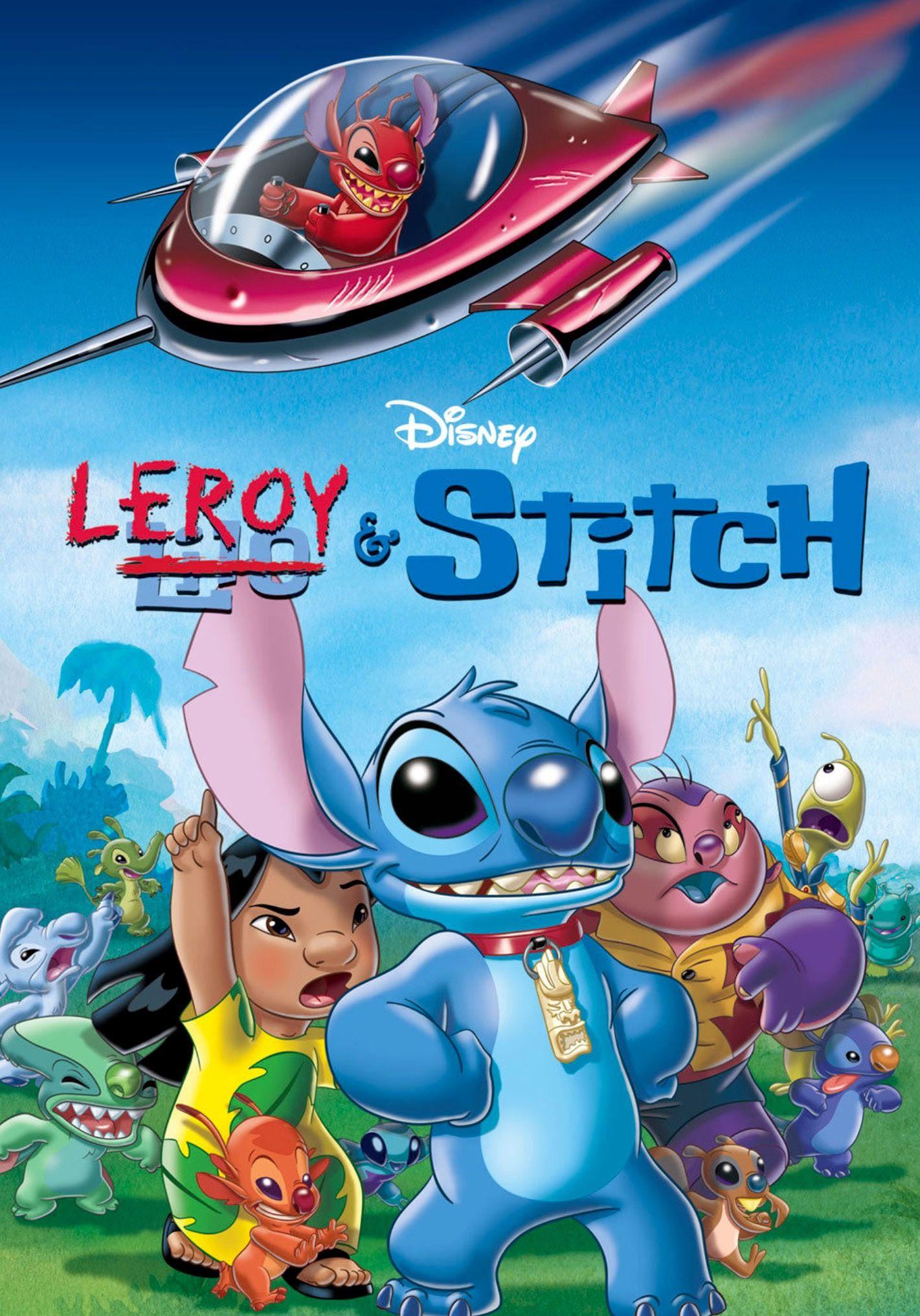 Leroy stitch disney movies anywhere stitch movie
