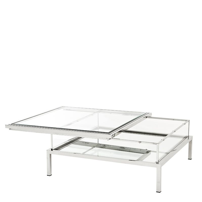 Coffee Table Harvey Sliding Coffee Table Large Square Coffee