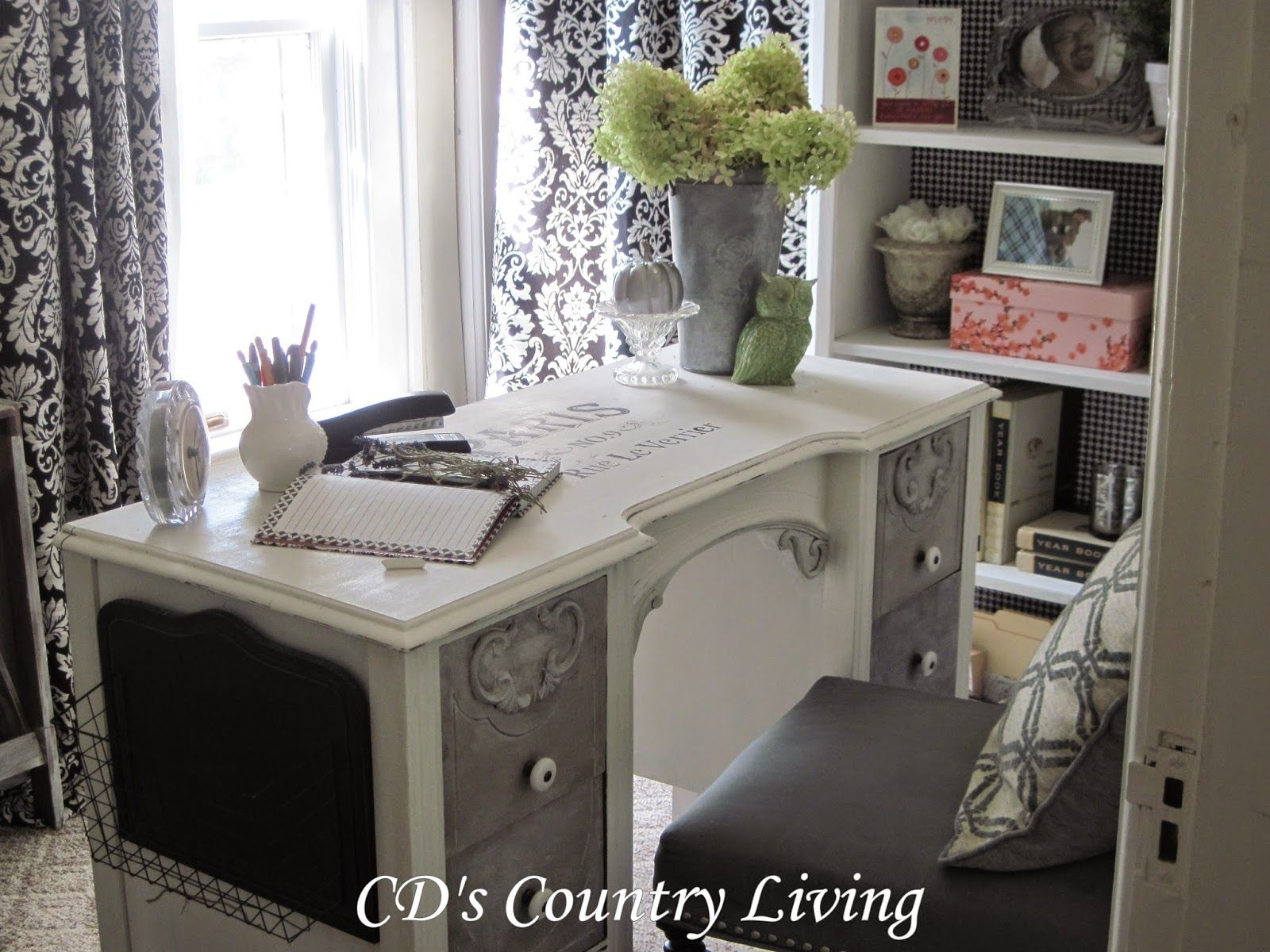 CD's Country Living: Office Makeover-Final Reveal!