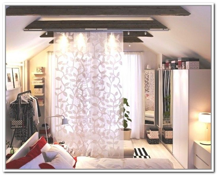 Hanging Room Divider Curtains (or Something Retractable Would Be Better)