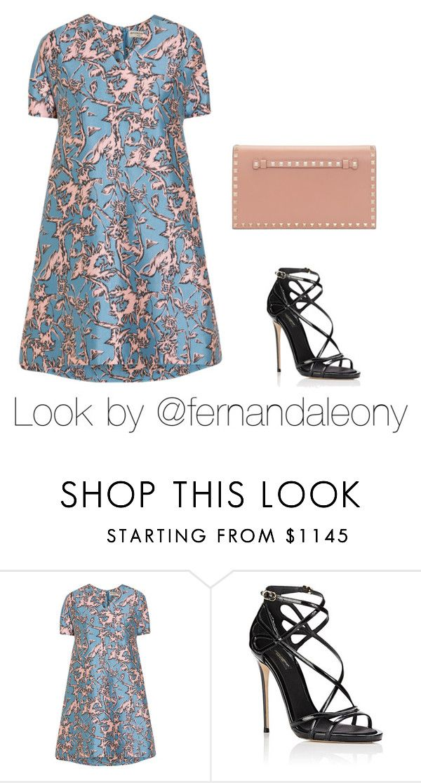 """""""Thursday"""" by my-secret on Polyvore featuring Balenciaga, Dolce&Gabbana and Valentino"""