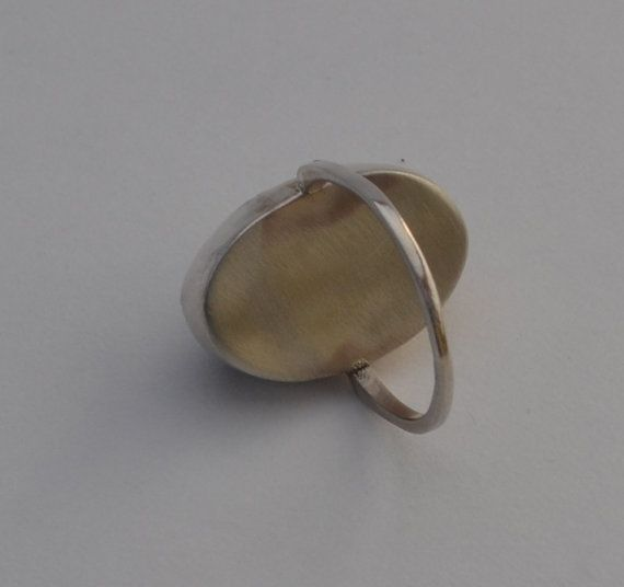 Labradorite Ring in Sterling Silver by Crystalsidyll on Etsy