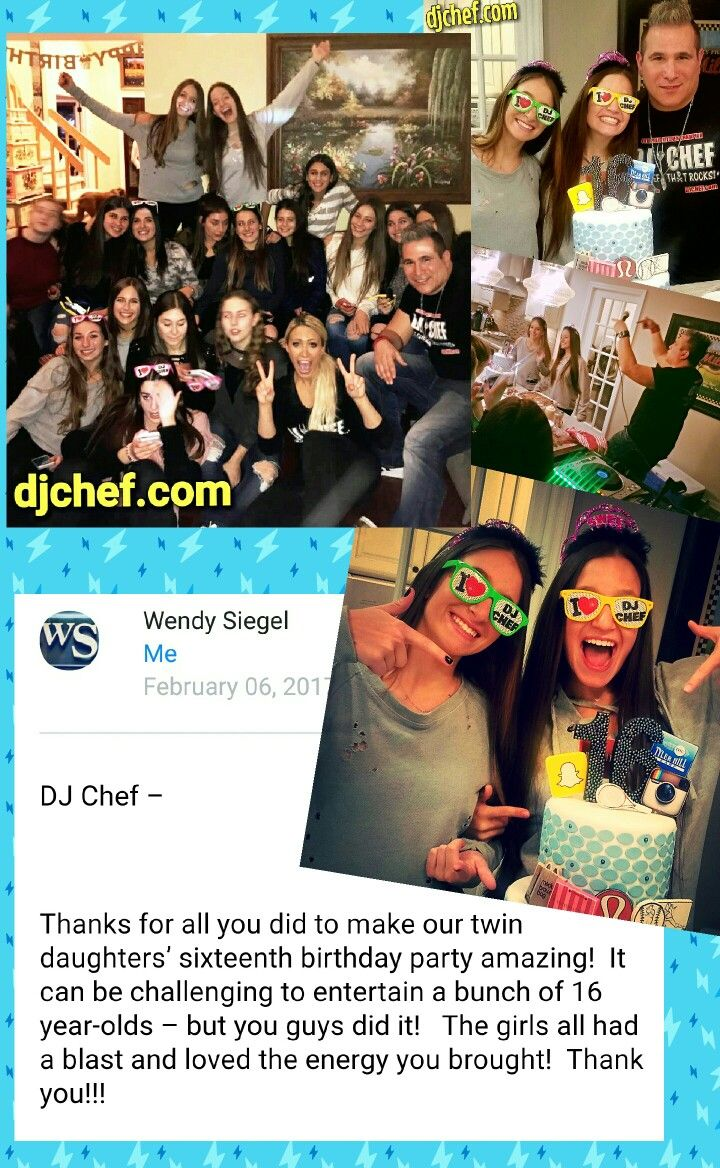 Dj Chef Kids Party Idea Long Island Sweet 16 Birthday Camp School Nj Connecticut Ny Dance Cooking Class Food Network Cutthroat Kitchen Champion