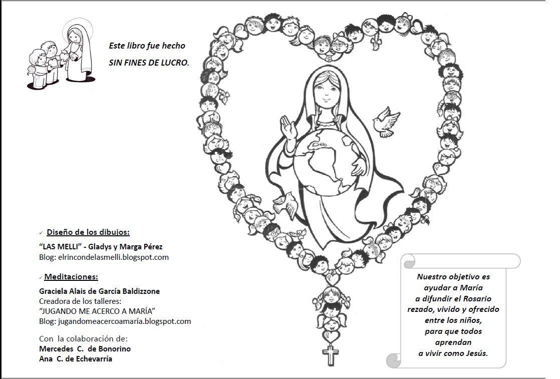 Explicación sencilla para que los niños aprendan a rezar el Rosario ...