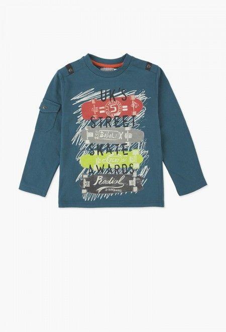 fec9ed45d66 Camiseta punto liso de niño