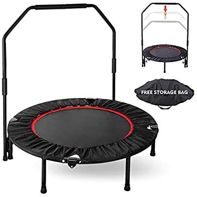 Best Amazon Com Gartio 40 Exercise Trampoline Portable 400 x 300