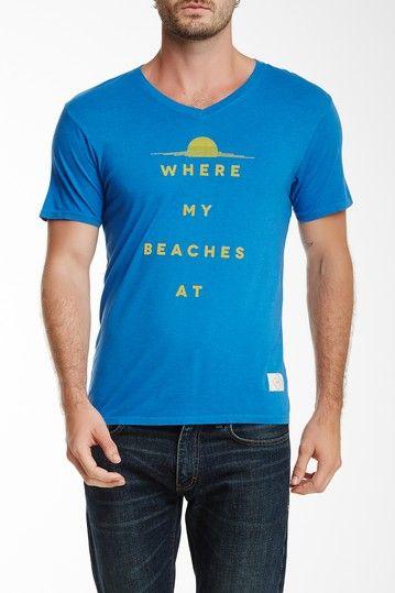Kinetix Where My Beaches Tee