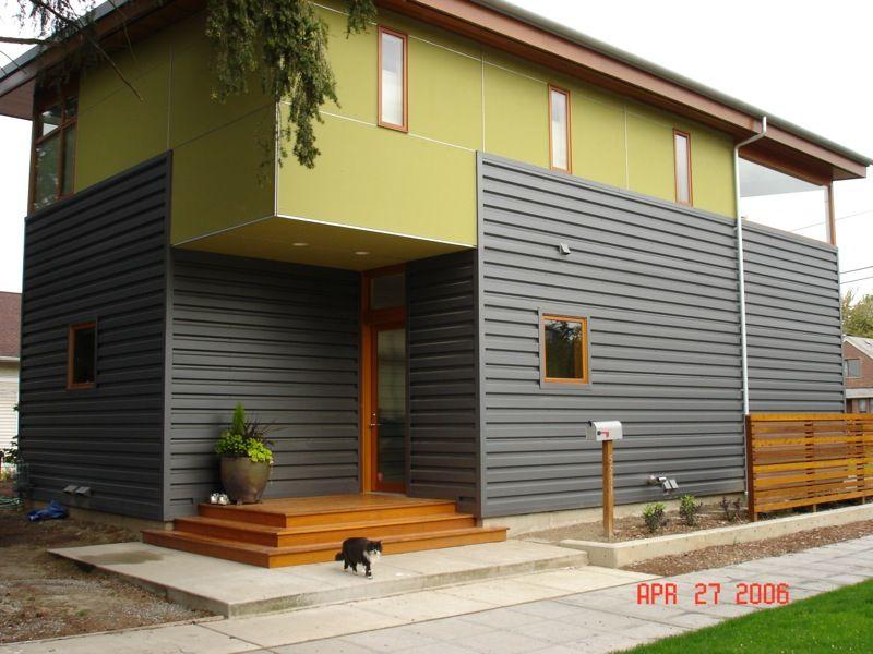 Box Rib Metal Siding Google Search Siding Options Metal Roof Metal Siding