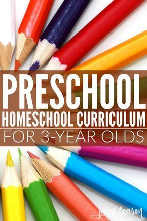 Photo of Preschool Homeschool Curriculum for 3 Year Olds – Jessi Fearon