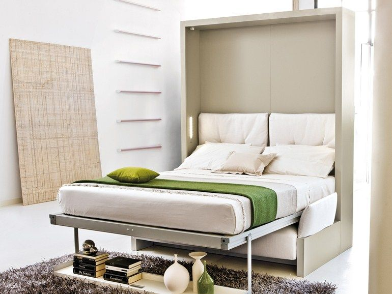 Storage wall with fold-away bed NUOVOLIOLÁ 10 by CLEI design ...
