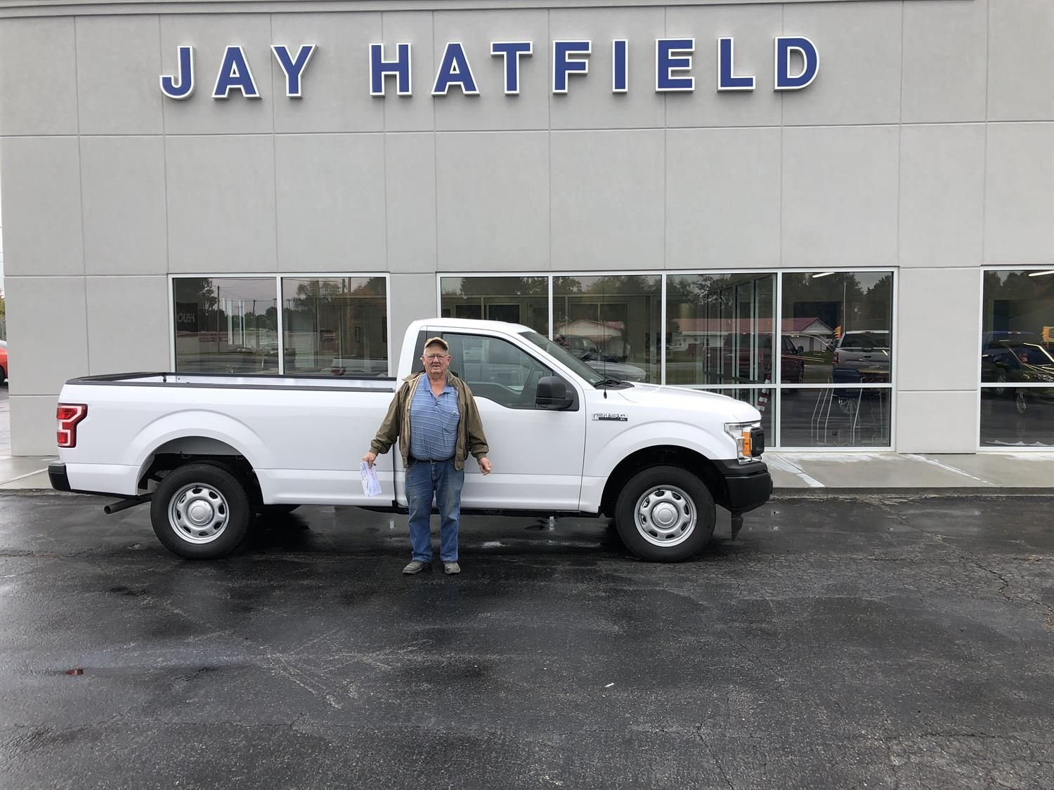 Jay Hatfield Ford >> Awesome Congratulations To Harley On Your New 2018 Ford F