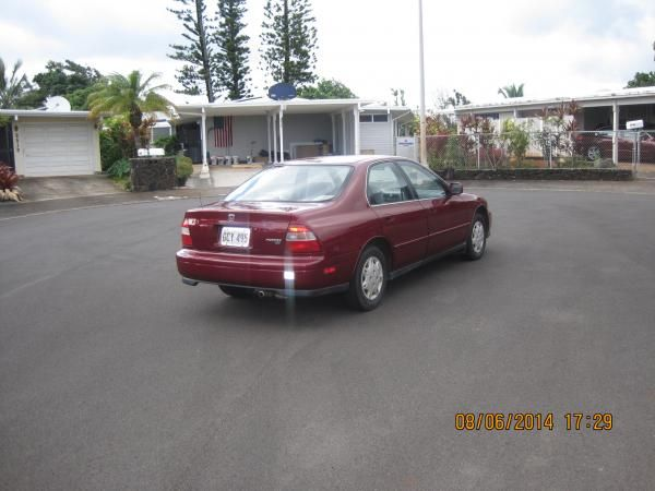 1995 HONDA ACCORD LX for sale near Hickam AFB, Hawaii                  MilClick.com - Military Lemon Lot - Buy or sell used cars, motorcycles, jeeps, RV campers, ATV, trucks, boats or any other military vehicle online.  100% FREE TO LIST YOUR VEHICLE!!!
