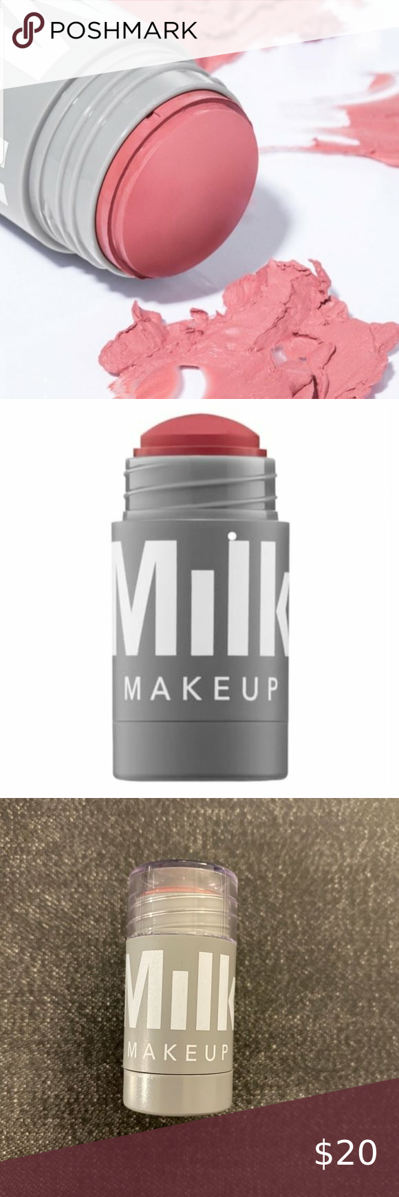 NWT] MILK Makeup Lip + Cheek in Werk New, never opened