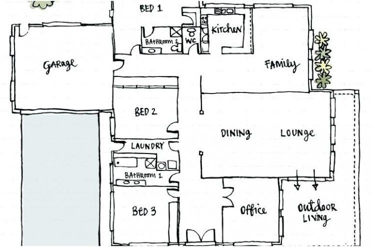 Pin about Simple floor plans on housedesgn.online