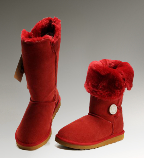 red boots ugg