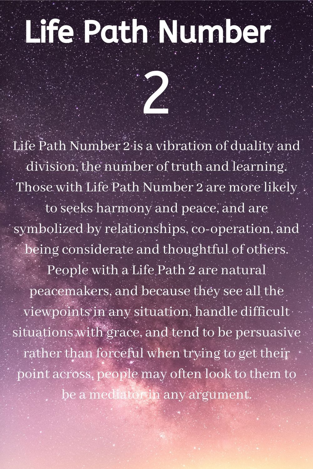 Life Path Number 2 Numerology In 2020 Numerology Life Path Life Path Number Life Path