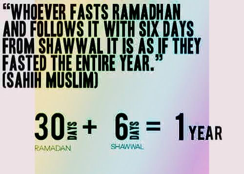 6 days fast in Syawal