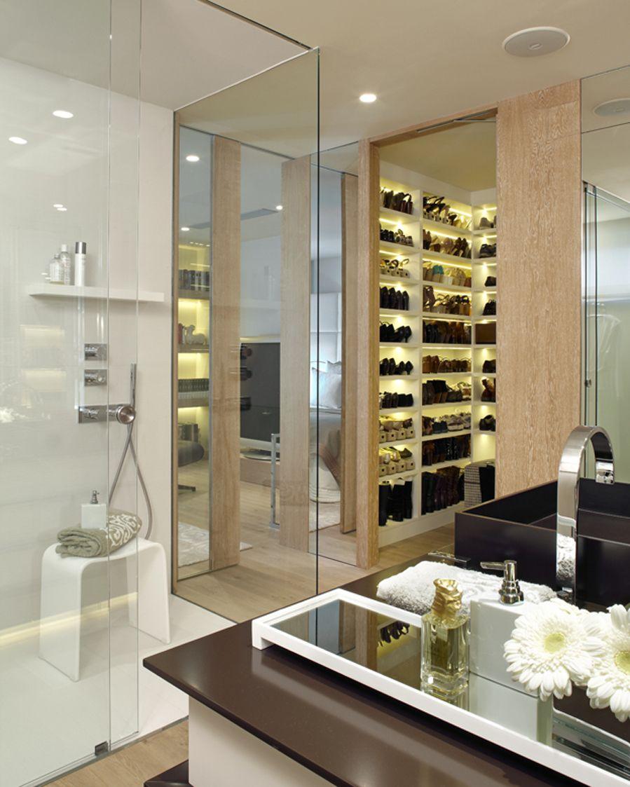 Molins interiors arquitectura interior interiorismo dormitorio principal suite - Decoradores interioristas barcelona ...