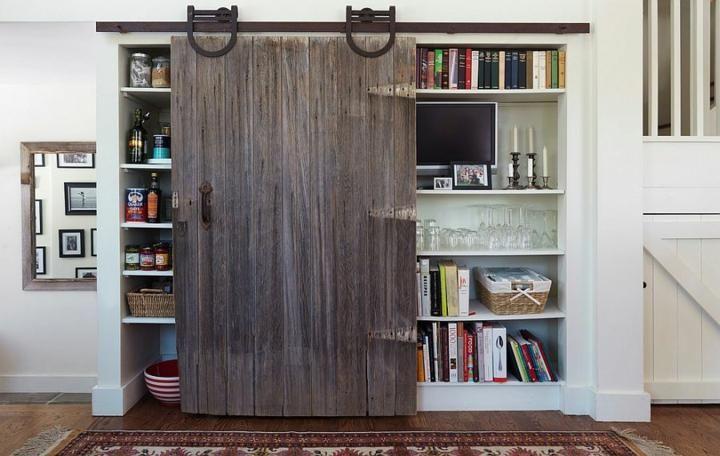 Schiebetüren Scheunentyp Design, 75 unglaubliche Ideen Haus - schiebetüren für badezimmer