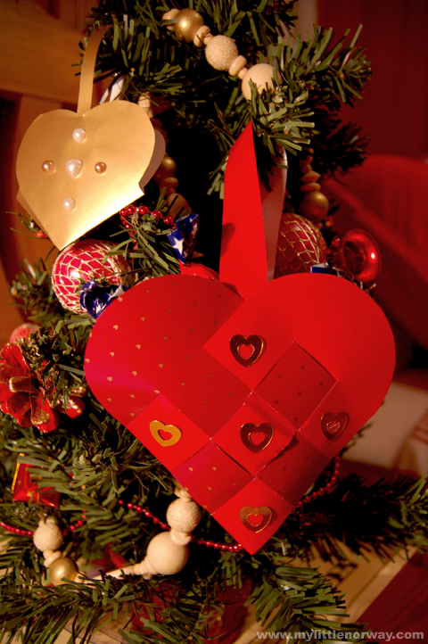 Traditional Norwegian heart baskets--fun to make, good for fine motor  skills. Great holiday decorations, or fill with treats and share with loved  ones! - Traditional Norwegian Heart Baskets--fun To Make, Good For Fine