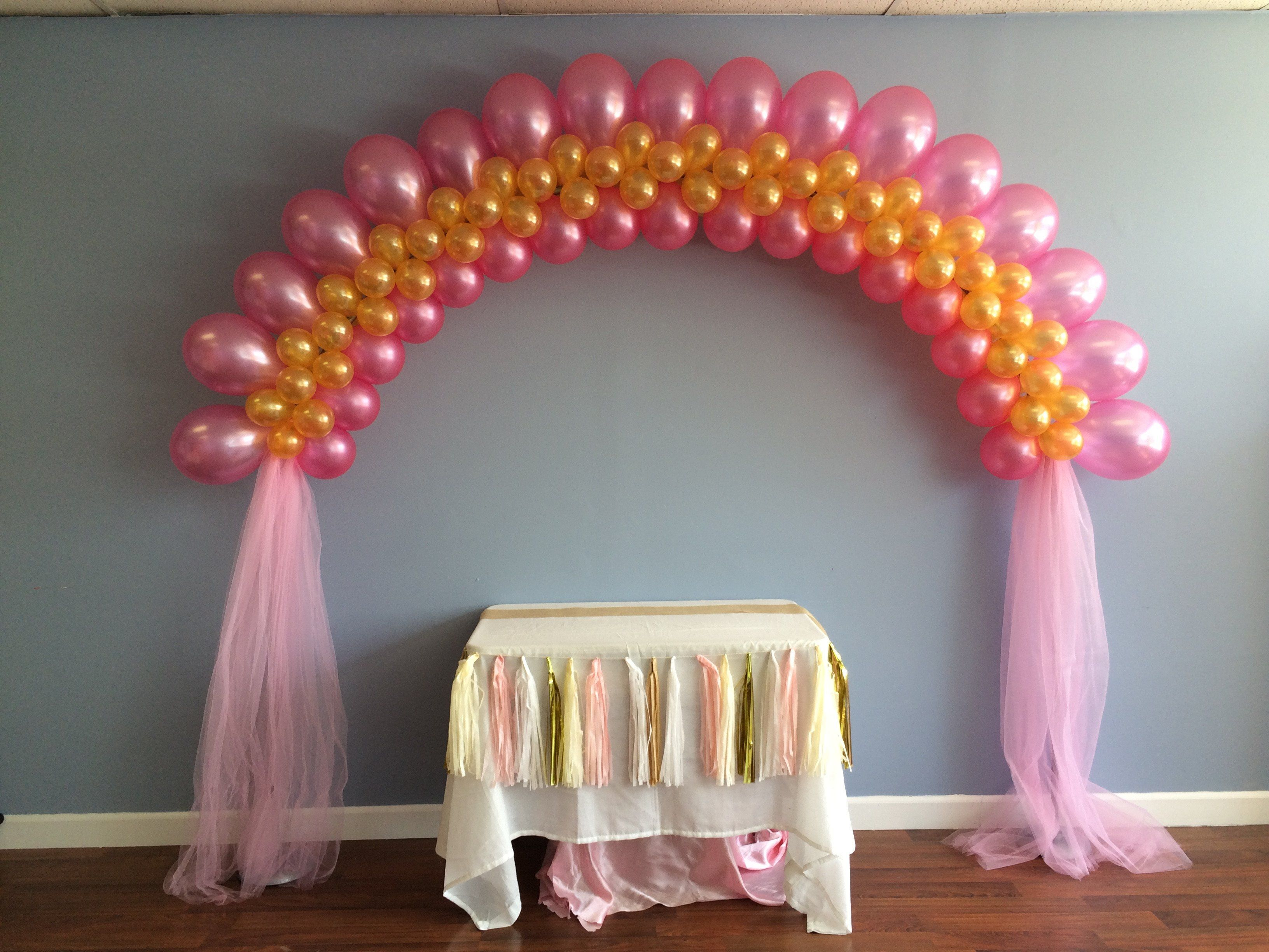 how to do a balloon arch at home