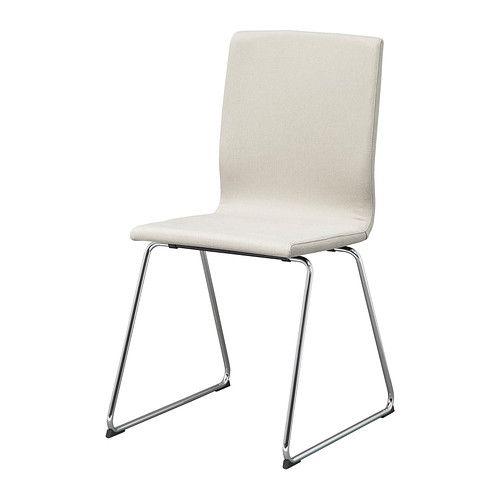 volfgang eetkamerstoel, verchroomd, dansbo beige | stühle ... - Wohnung Beige Ikea