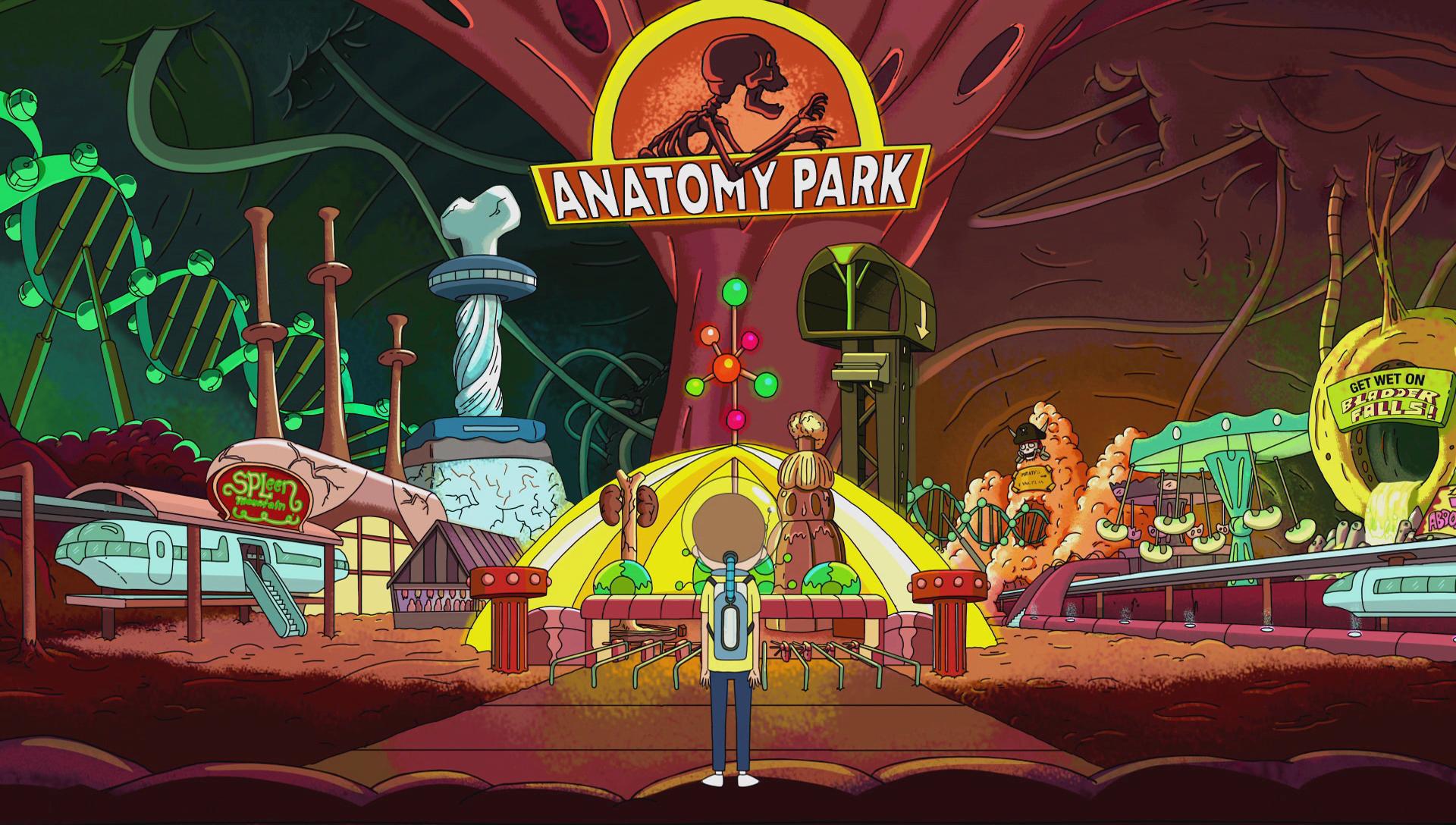 Rick And Morty Anatomy Park Board Game Launching July 12 Gizorama Anatomy Park Rick And Morty Poster Rick And Morty Season