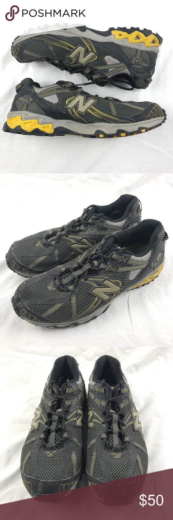 New Balance Mens MT572BY N Fuse All Terrain Trail Running
