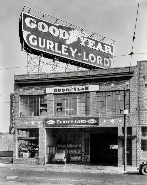 Quot Gurley Lord Service Station San Francisco 1923 Quot One Of