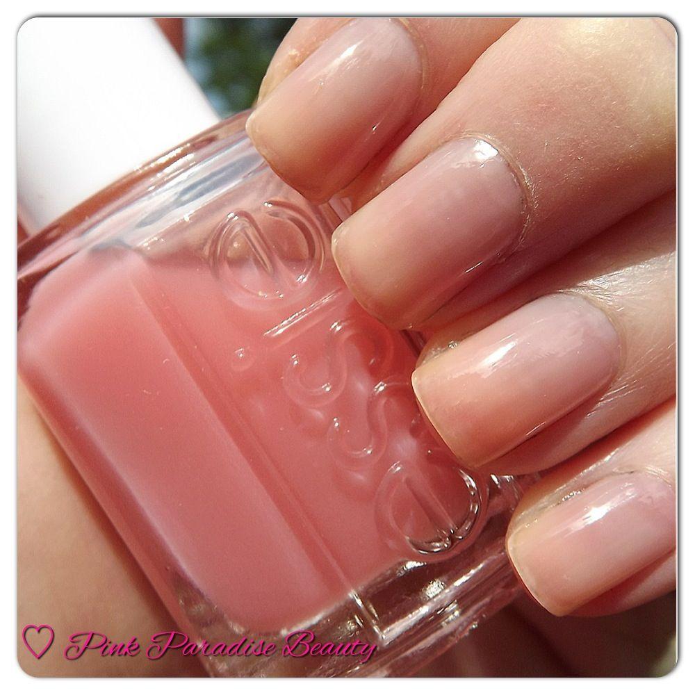 Essie Pink Glove Service Nail Polish Nail Swatch ESSIE