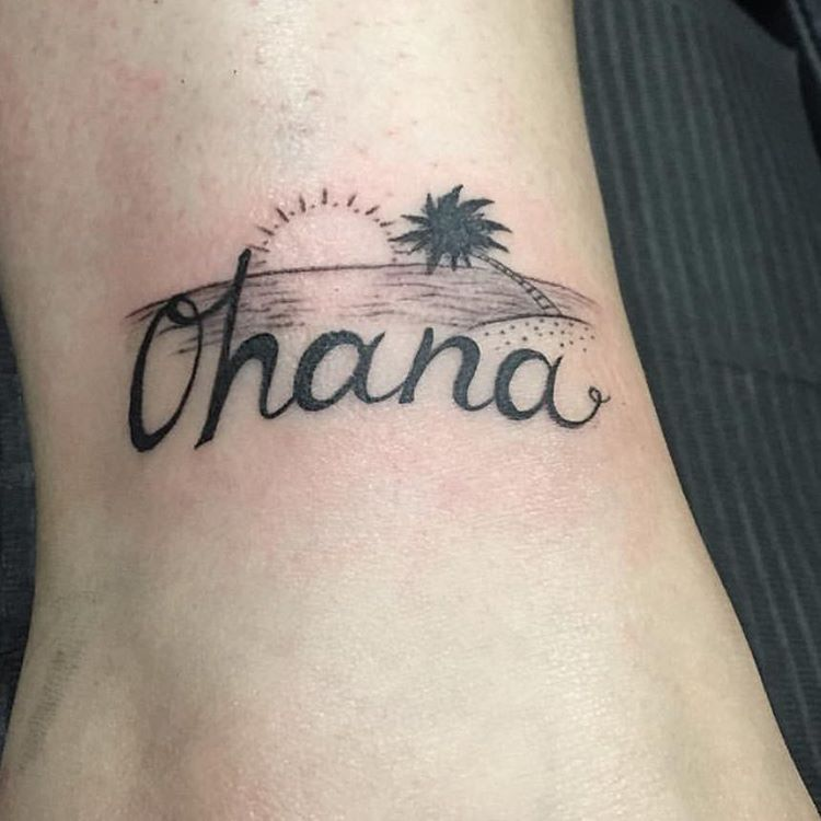 Hawaiian Tattoos Small