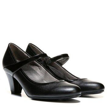 cfcd910f9577 LifeStride Women s Gigi Medium Wide Slip Resistant Mary Jane Pump at Famous  Footwear