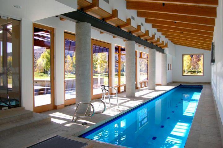 rustic and minimalist indoor lap pool. beautiful ideas. Home Design Ideas
