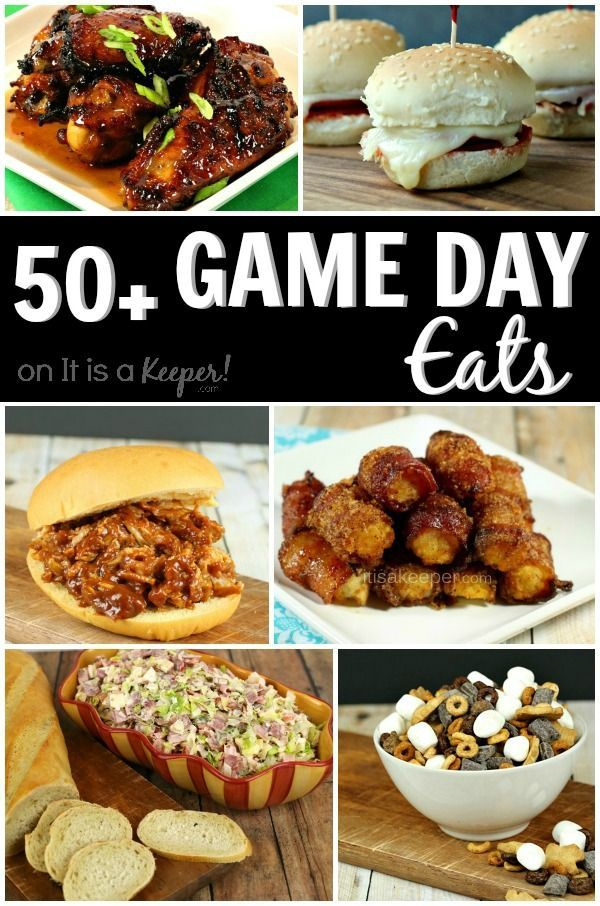 50+ Game Day Eats from It Is a Keeper #gamedayfood