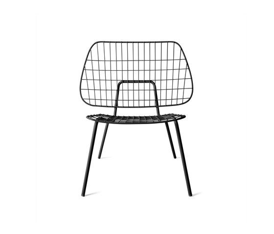 Waiting area chair Easy WM String Dining Chair by Menu