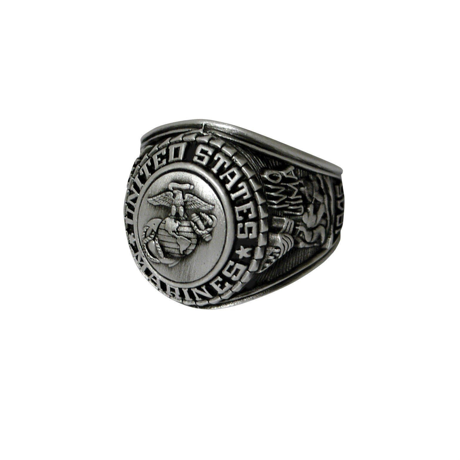 Deluxe Military Rings Army Navy Sp Forces Marines Usmc U S Made Usmc Marine Corps Rings Marines